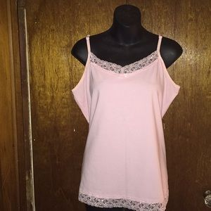 Christopher & Banks Tops - NWOT Size xl  Christopher  & Banks pale pink cami